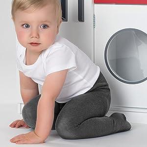 tights baby strumpfhosen set junge mädchen grau