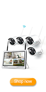 Flashandfocus.com 52418095-80b5-4b1b-b2a4-50465c96af40.__CR0,0,150,300_PT0_SX150_V1___ HeimVision HM241A Wireless Security Camera System with 1TB Hard Drive, 8 Channel NVR 4Pcs 1080P Home WiFi Security…