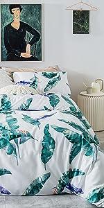 leaves bedding