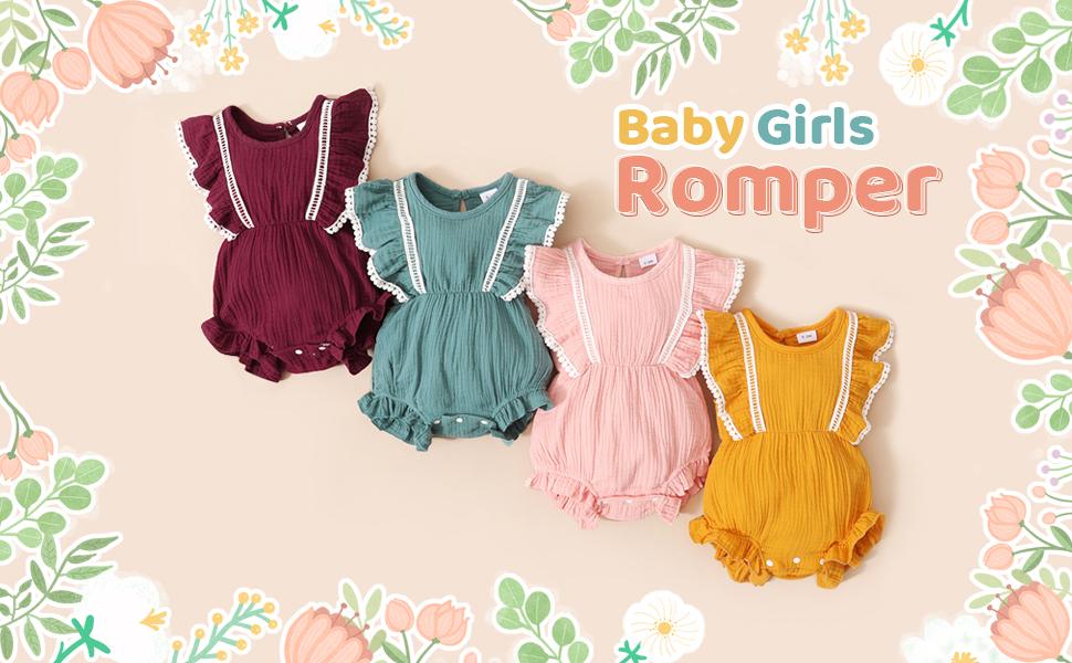 Baby Girl's Romper