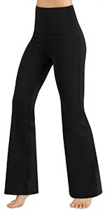 ODODOS Boot-cut Yoga Pants with Pockets