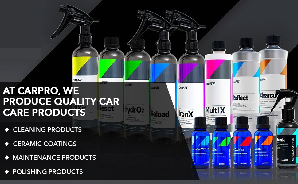 Car cleaning, ceramic coating, maintenance and polishing products