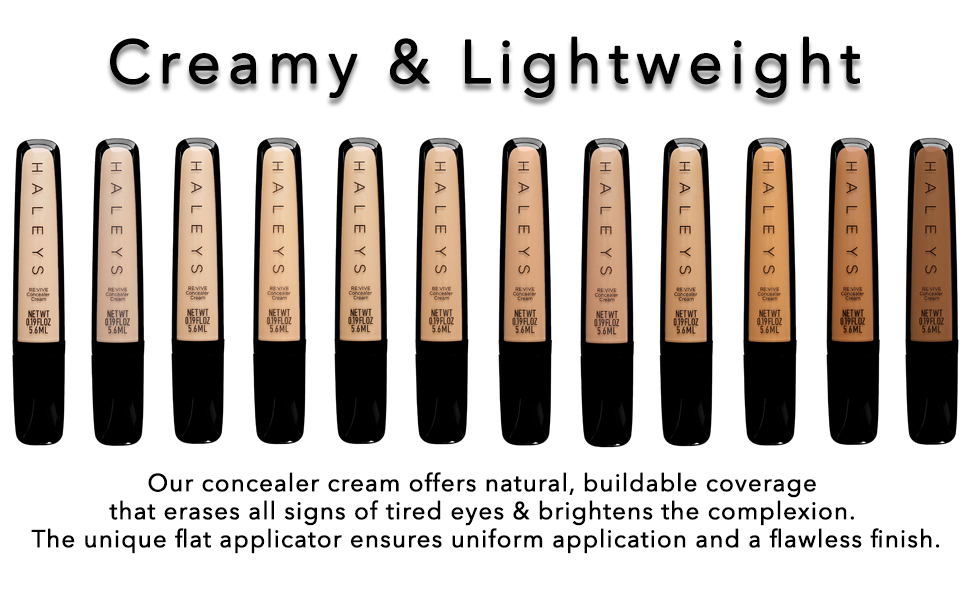 creamy lightweight blendable coverage