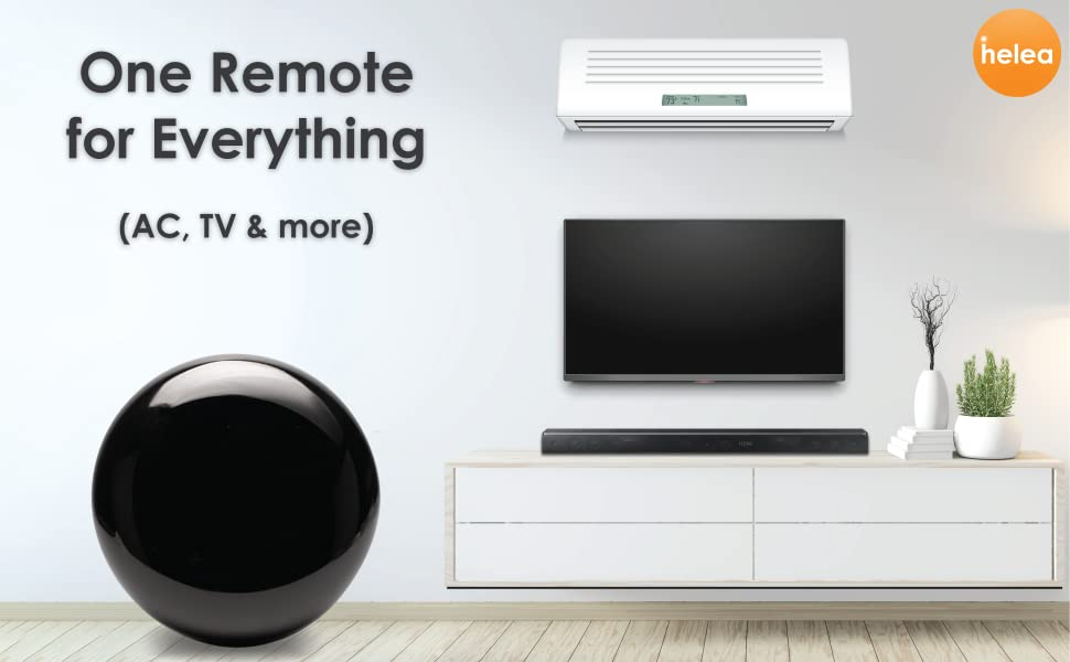 Control All with Helea Smart Remote