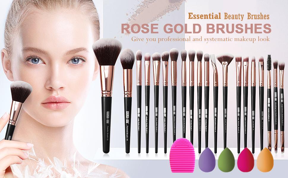 20Pcs Professional Makeup Brush Set