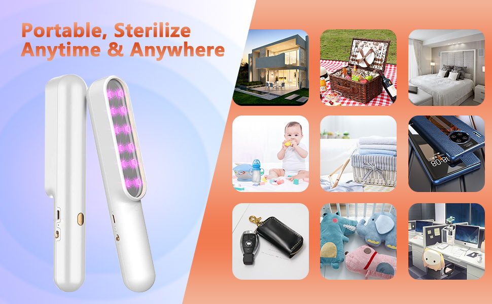 portable sterilize anytime anywhere