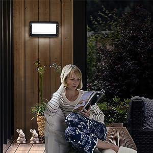 Iluminación pared al aire libre moderno LED Iluminación pared fuera moderno Lámpara pared fuera