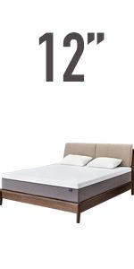 12'' memory foam mattress