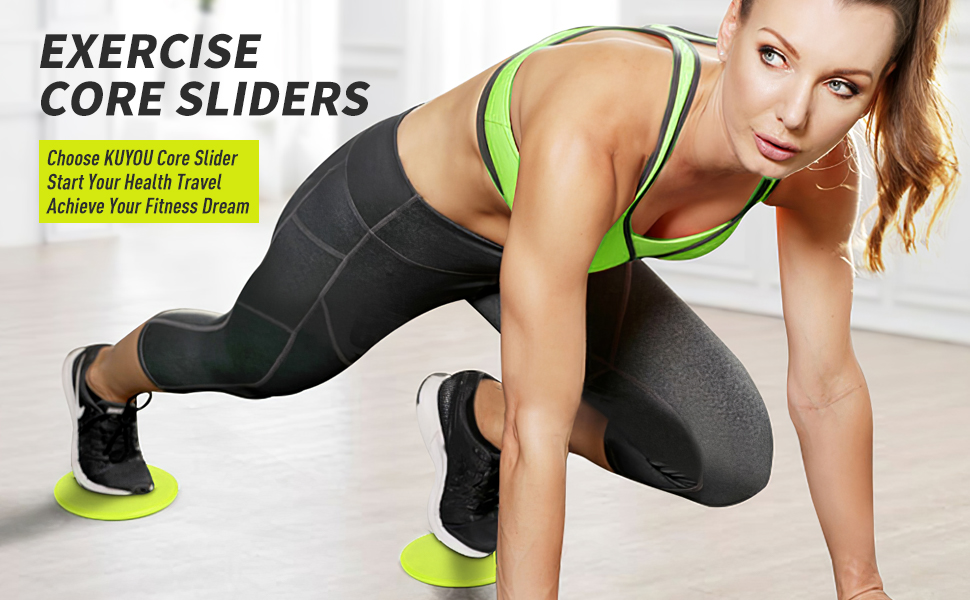 resistance bands and exercise sliders