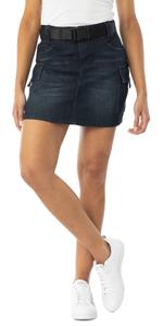 belted denim skirt, denim skirt, jean skirt, blue jean skirt, cargo skirt, denim cargo skirt