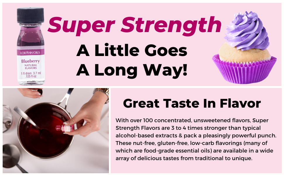 super strength food flavors baking frosting hard candy cakes cookies
