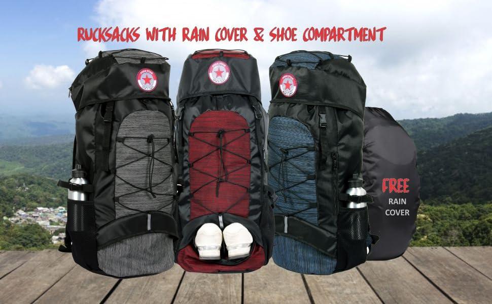 Polestar lightweight large backpack rucksacks hiking laptop  trekking travel luggage backpack bags