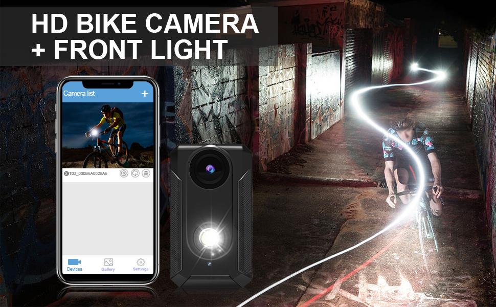 HD bike camera