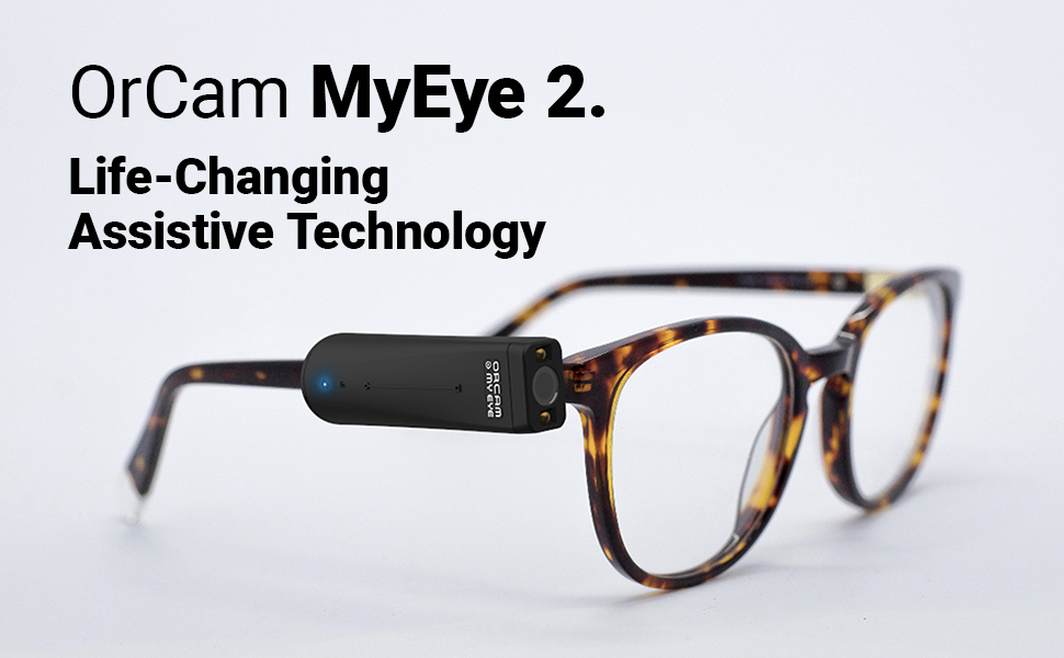 Amazon.com: OrCam MyEye 2 - The Most Advanced Wearable Assistive ...