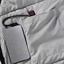 heated sleeping bag plug in USB