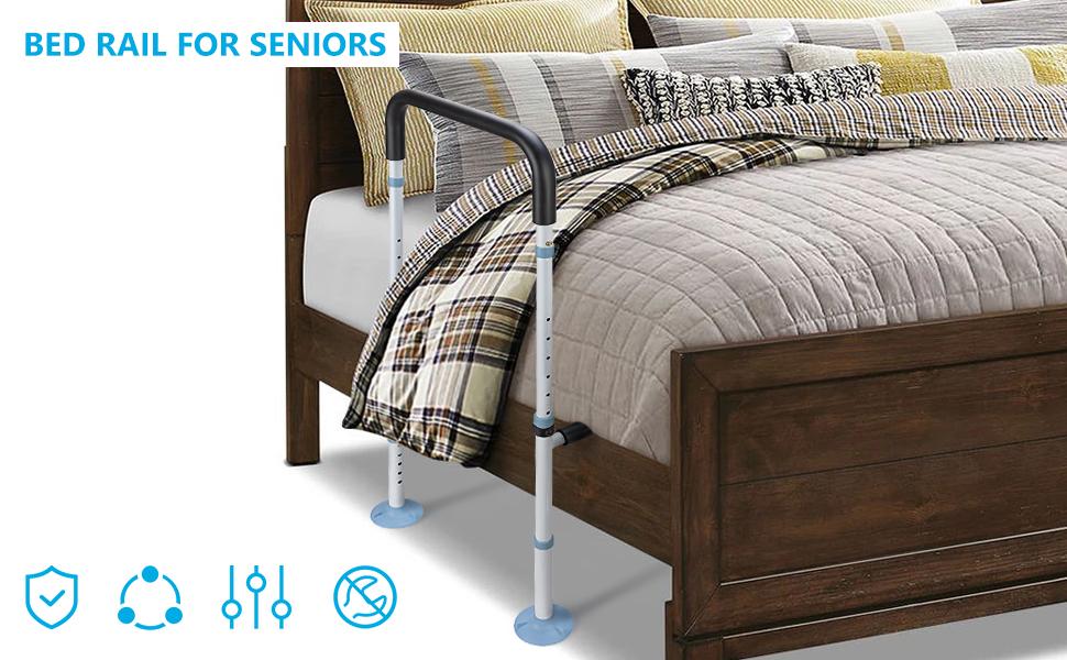 Medical Bed Safety & Assisting Rails adjustable hand bed rail drive adjustable bed rail bed bars