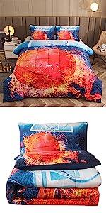 full backetball comforter