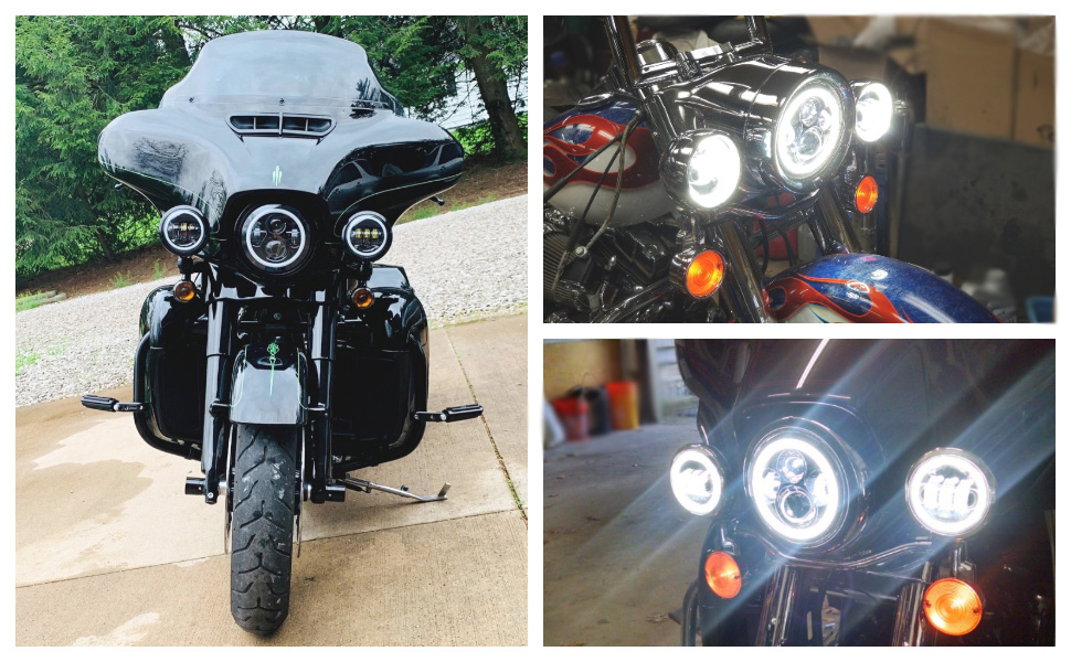 electra glide headlights
