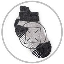 boys non skid ankle socks
