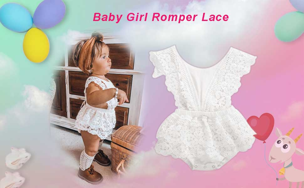 baby girl romper jumpsuit