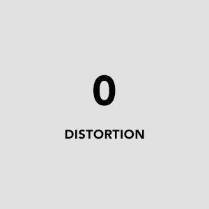 0 distortion