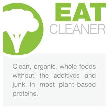 clean healthy protein powder