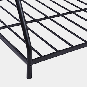 steel slat support frame platform platform metal box