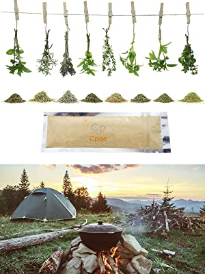 Camping Spice Set - Premium Organic Herbs & Spices
