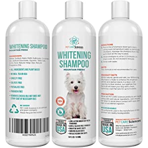 Dog Whitening Shampoo
