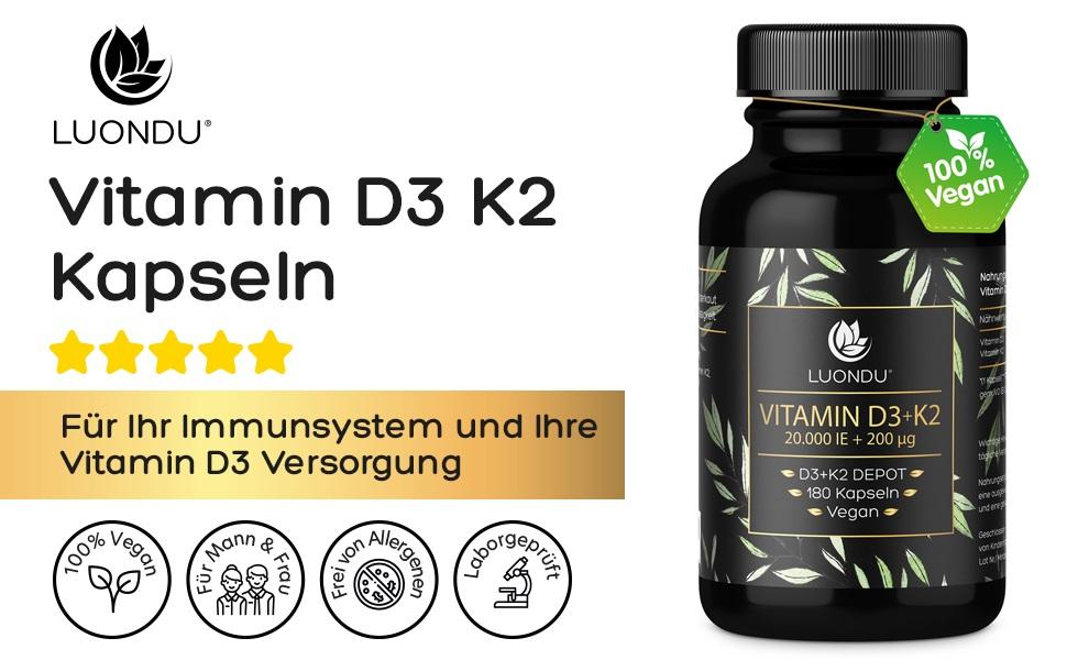 Vitamin D3 20.000 IE + 200mcg