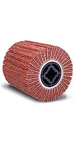 eastwood iinter leaf strip dum buff finish 80 120 240 320 grit cotton nylon aluminium oxide