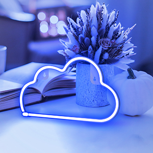 neon signs,led neon cloud lights,room decor,neon light for home decor,led lights,led neon sign