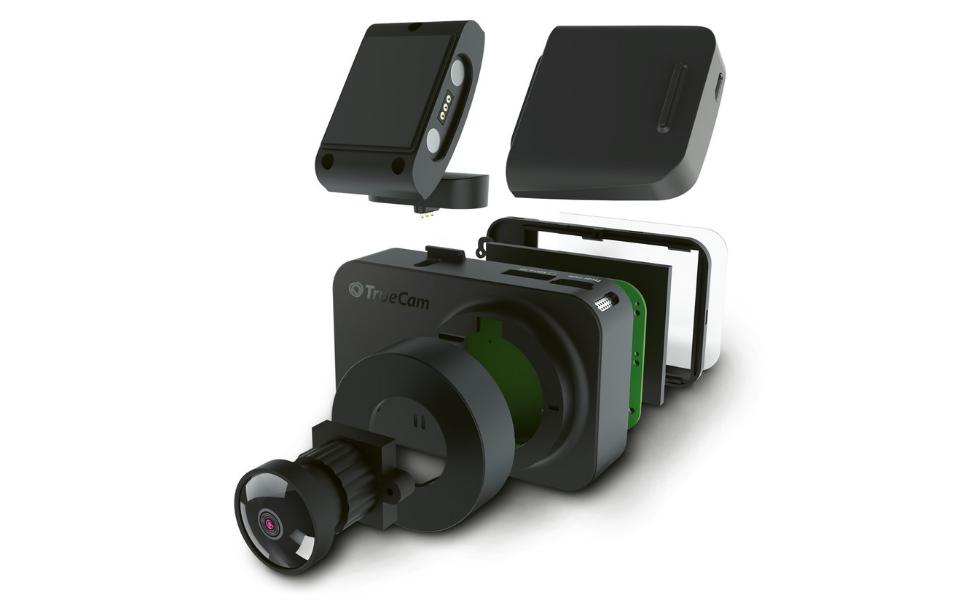 Truecam M7 Gps Dual Dual Dashcam Autokamera Mit Full Elektronik