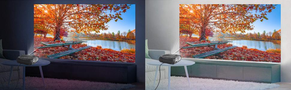 wifi mini projector lumavision verratek video wireless miracast airplay