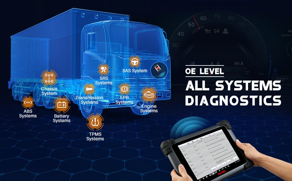 Autel MS908CV Heavy-duty diagnostic tool