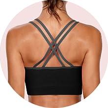 black Sport bra