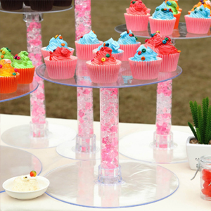 Easy to style 5 tiers cupcake stand set
