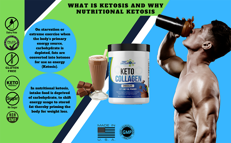 Lean muscles ketosis collagen