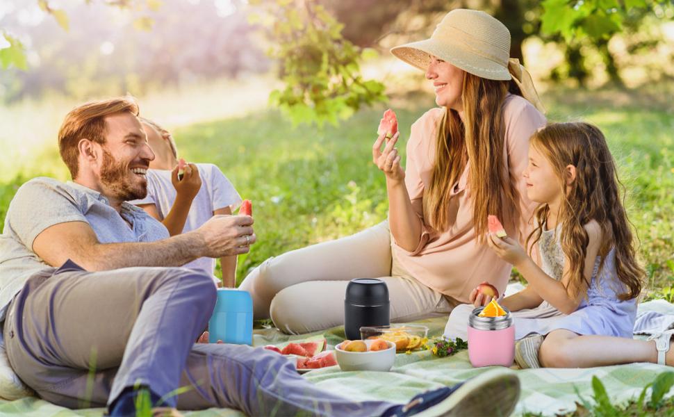 ValueTalks Termo para Alimentos 450ml Tarro de Comida Acero ...