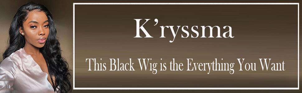 black lace front wigs