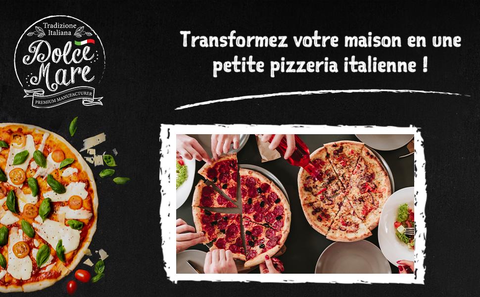 Tranformez votre maison en petite pizzeria itanlienne