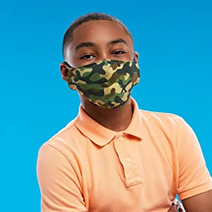 claire's cloth face masks collection, unique designs, colorful, lightweight, breathable, 2 layer