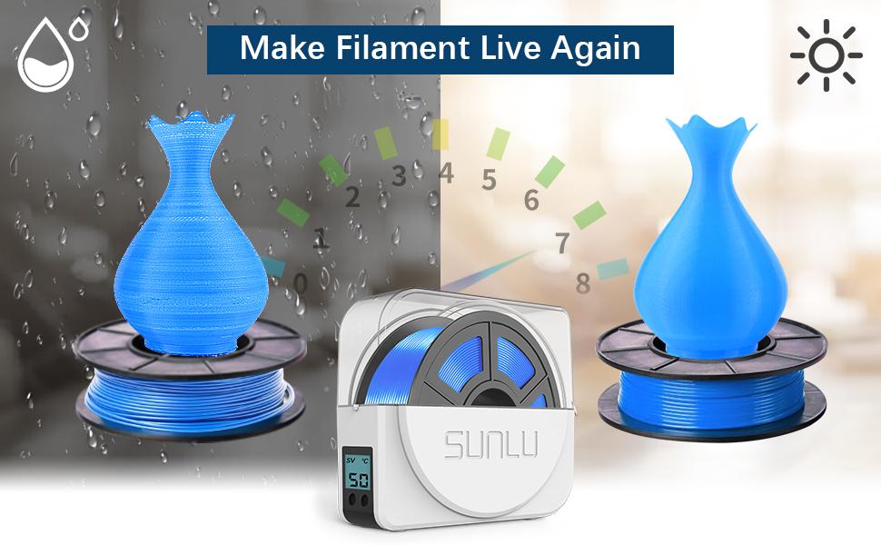3D Filament Dryer Box