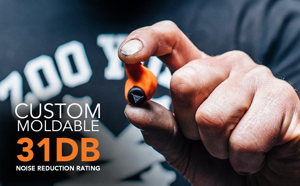 Custom moldable 31db
