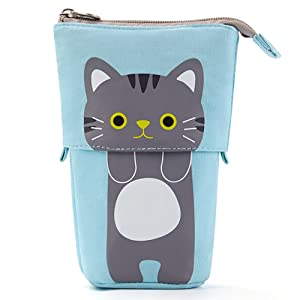 pencil pouch standing