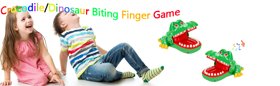 crocodile biting finger game