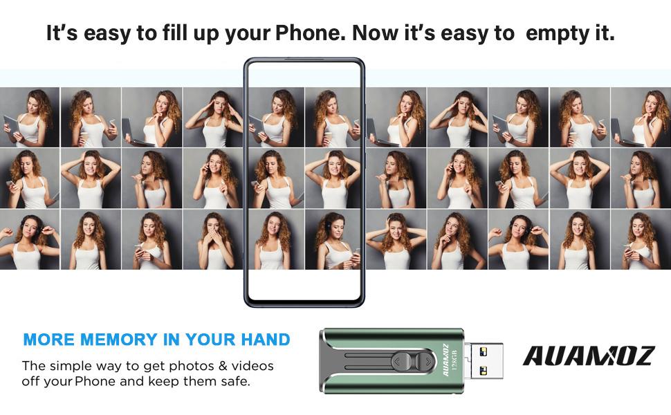 usb flash drive for phone flash drive phone memory stick phone photo stick phone flash drive 128gb