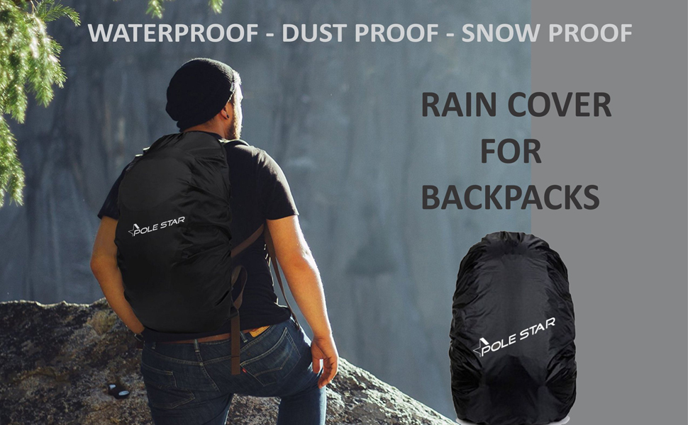 Polestar rain dust  cover  gift new arrivals bags boys men casual laptop backpacks schoolbag
