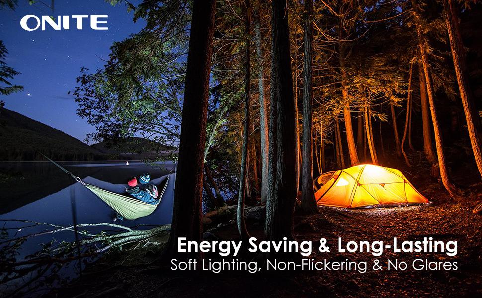 Energy Saving & Long-Lasting Soft Lighting, Non-Flickering & No Glares