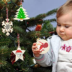 Christmas Wooden Ornaments